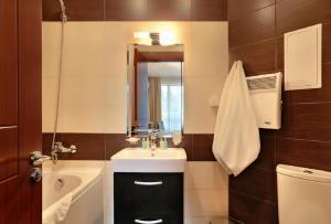Ванная комната в Apart Hotel Golden Line
