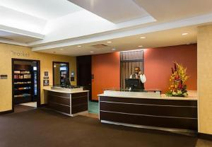 The lobby or reception area at Residence Inn by Marriott Ottawa Airport