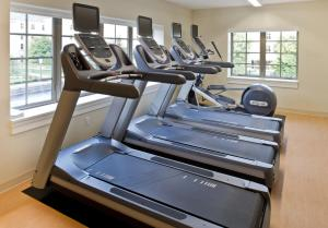 The fitness center and/or fitness facilities at Morris Inn at Notre Dame