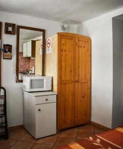 A bathroom at Eszti Mama Vendégháza