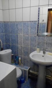 Ванная комната в Apartments na Kolesova