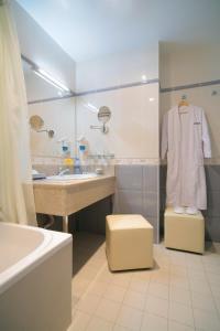 Ванная комната в Бизнес-отель Сенатор