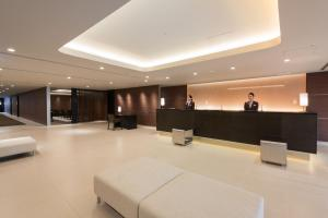 The lobby or reception area at Nagoya Kanayama Hotel