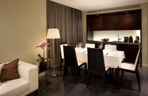 Dining area at the hotel
