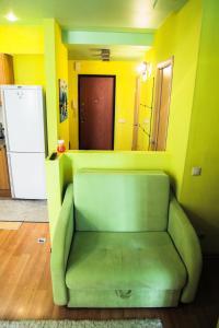 Гостиная зона в Apartment on Chistopolskaya 60