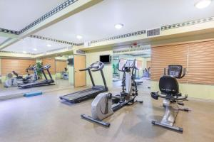 The fitness center and/or fitness facilities at Ramada by Wyndham Williams/Grand Canyon Area