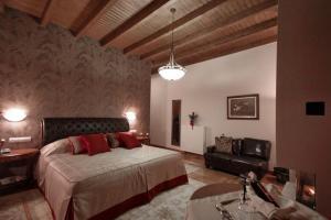Ένα ή περισσότερα κρεβάτια σε δωμάτιο στο Methexis Boutique Hotel