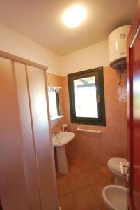 A bathroom at Villette Elicriso