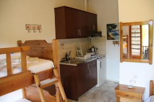 Η κουζίνα ή μικρή κουζίνα στο Patroudis House