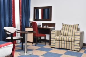 Гостиная зона в Отель Искра