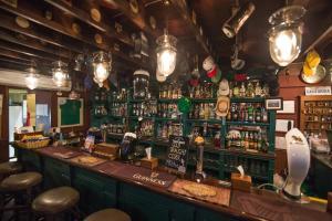The lounge or bar area at Du-Sila Hotel