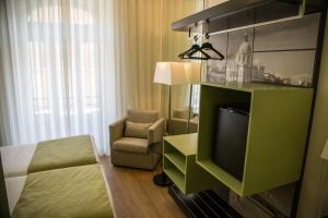 Zona de estar de Hotel Dublin