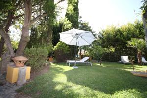 A garden outside Quinta do Caracol