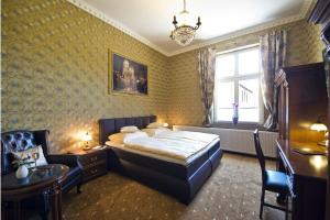 Ein Bett oder Betten in einem Zimmer der Unterkunft Guest house Villa Fritz