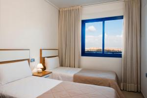 Cama o camas de una habitación en Alicante Hills