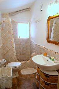 A bathroom at Appartamenti Storici al Mare