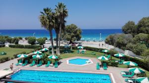 A view of the pool at Pylea Beach Hotel or nearby