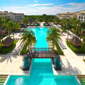 A view of the pool at Paradisus La Perla All Inclusive Playa Del Carmen or nearby