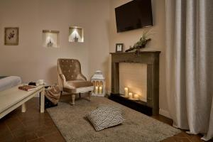 A television and/or entertainment center at Birkin Castello