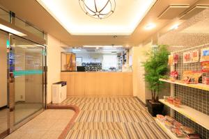The lobby or reception area at Ueno Station Hostel Oriental Ⅱ(Men Only)