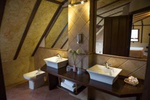 A bathroom at Hotel Casa Beletri