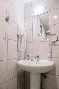 Ένα μπάνιο στο Ξενοδοχείο Pappas