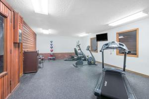 The fitness center and/or fitness facilities at Days Inn by Wyndham Wall