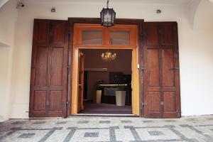 Exteriér nebo vchod ubytování Hotel U Hradu