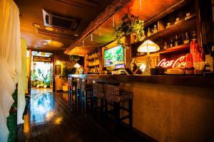 The lounge or bar area at Hotel Balian Resort Tomei Kawasaki I.C.