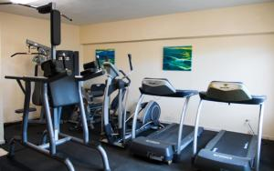 The fitness centre and/or fitness facilities at Villa Cofresi
