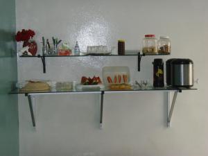 A kitchen or kitchenette at Hotel Vitoria Andradina