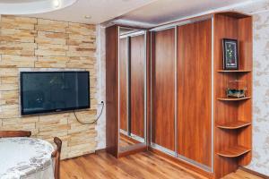 Телевизор и/или развлекательный центр в Апартаменты на ул. Лермонтова, д. 7