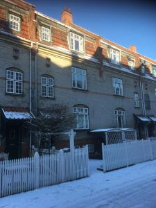 Engelsted Guesthouse during the winter