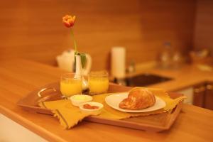 Завтрак для гостей Рубин