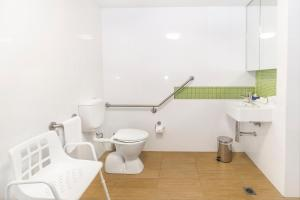 A bathroom at Abode Gungahlin