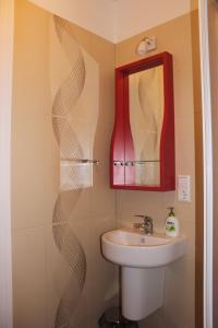 A bathroom at Martas Nams