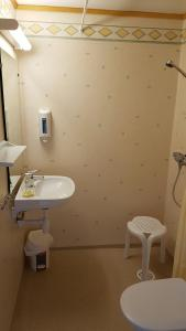 A bathroom at Holmely