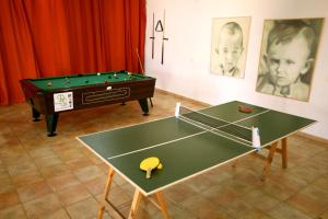 Ping-pong facilities at Conviven Albergue Ecocultural or nearby