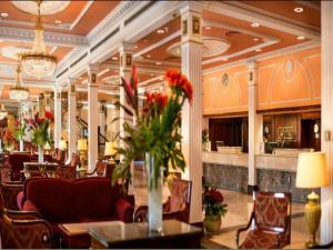 The lobby or reception area at Concorde El Salam Cairo Hotel & Casino
