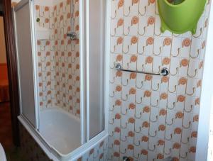 Koupelna v ubytování Appartamenti Falco