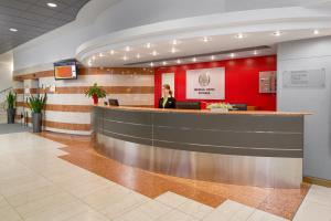 The lobby or reception area at Imperial Hotel Ostrava
