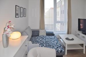 Posedenie v ubytovaní Apartmán 1+1 v centru České Lípy, 2.patro