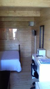 Uma cama ou camas num quarto em Hotel Quinta Dos Bastos