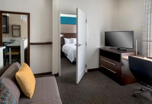 A television and/or entertainment center at Residence Inn by Marriott New York Long Island East End