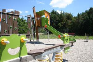 Children's play area at Résidence Goélia Le Domaine du Moulin Blanc