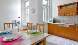 Een keuken of kitchenette bij Valentinska