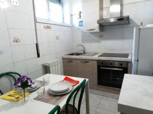 A kitchen or kitchenette at Meta Italy San Siro