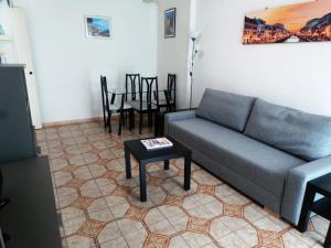 A seating area at Meta Italy San Siro