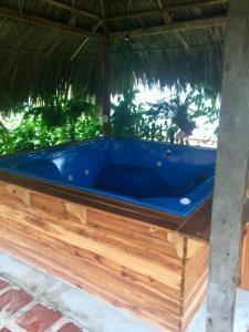Spa en/of wellnessfaciliteiten van Palomino Breeze Hostal