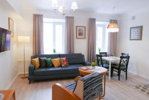 Гостиная зона в Unique Leto Residence